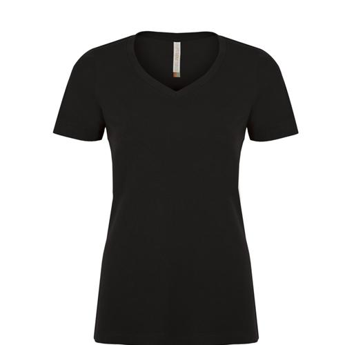 Eurospun V-neck Ladies Tee: