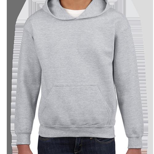 Sport Grey Pullover Hoodie: