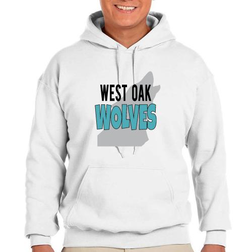 West Oak Grad Pullover Hoodie: